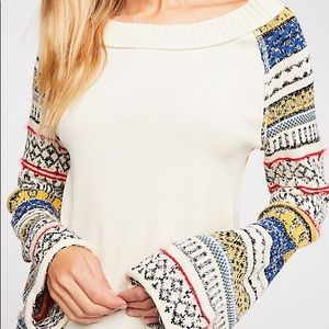 Free People Fairground Cabin Thermal NEW